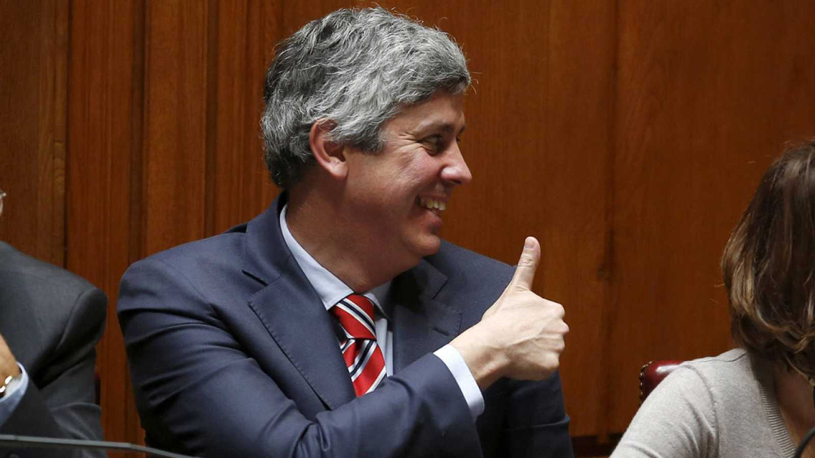El ministro de Finanzas de Portugal, Mario Centeno