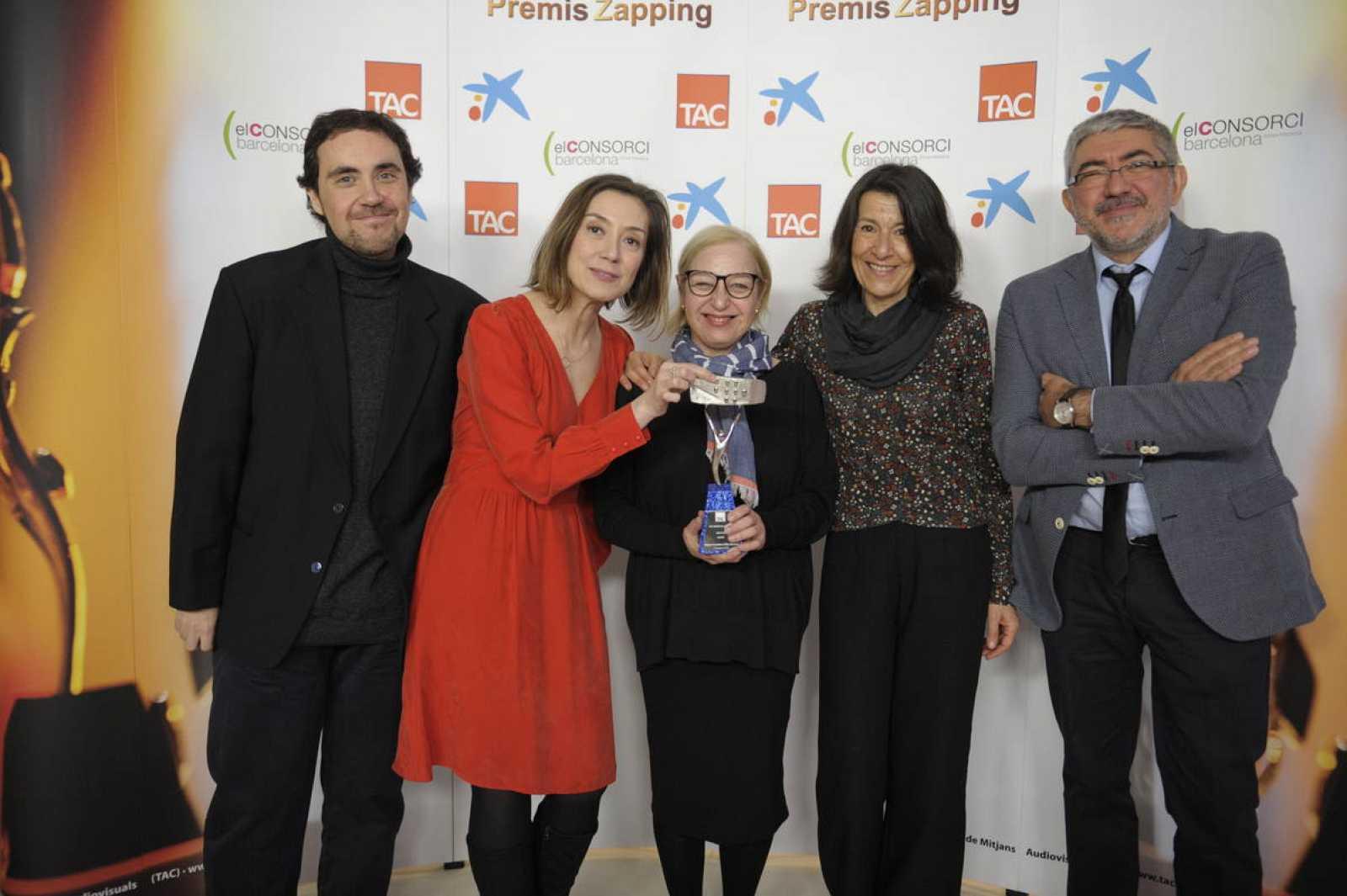 'El Ministerio del Tiempo' recibió el premio a la mejor serie de televisión