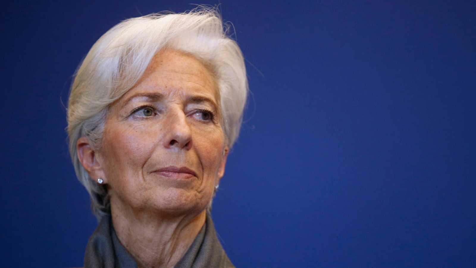 La directora del FMI, Christine Lagarde, el pasado 31 de marzo en París.