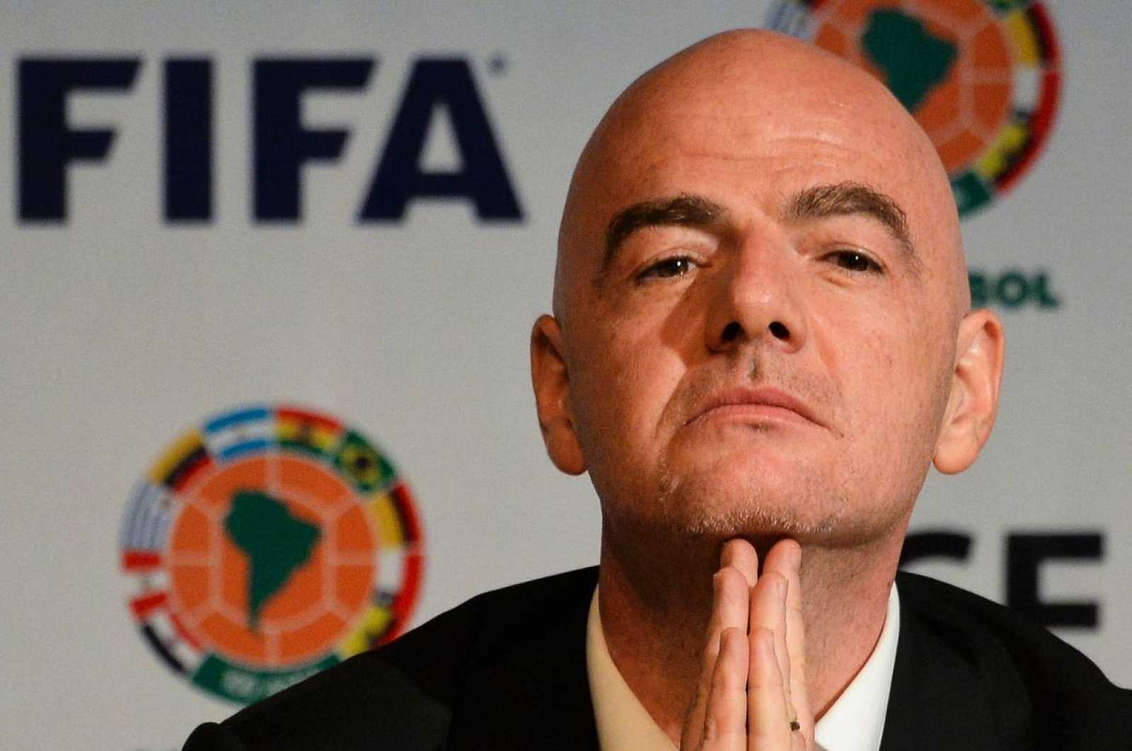 Foto de archivo del presidente de la FIFA, Gianni Infantino.