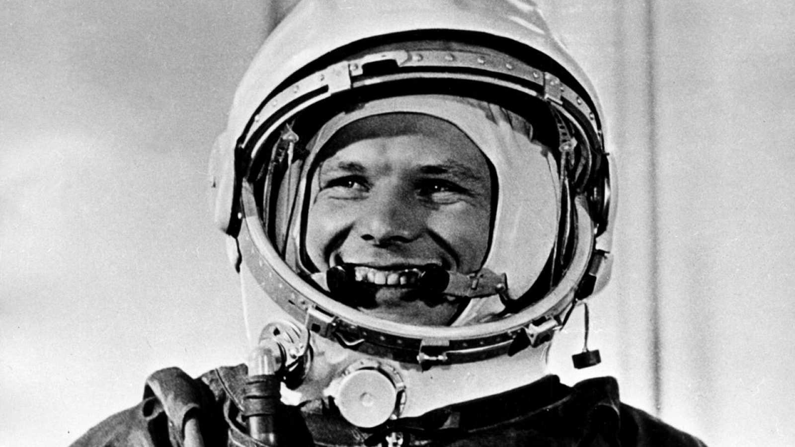 El cosmonauta soviético Yuri Gararin.