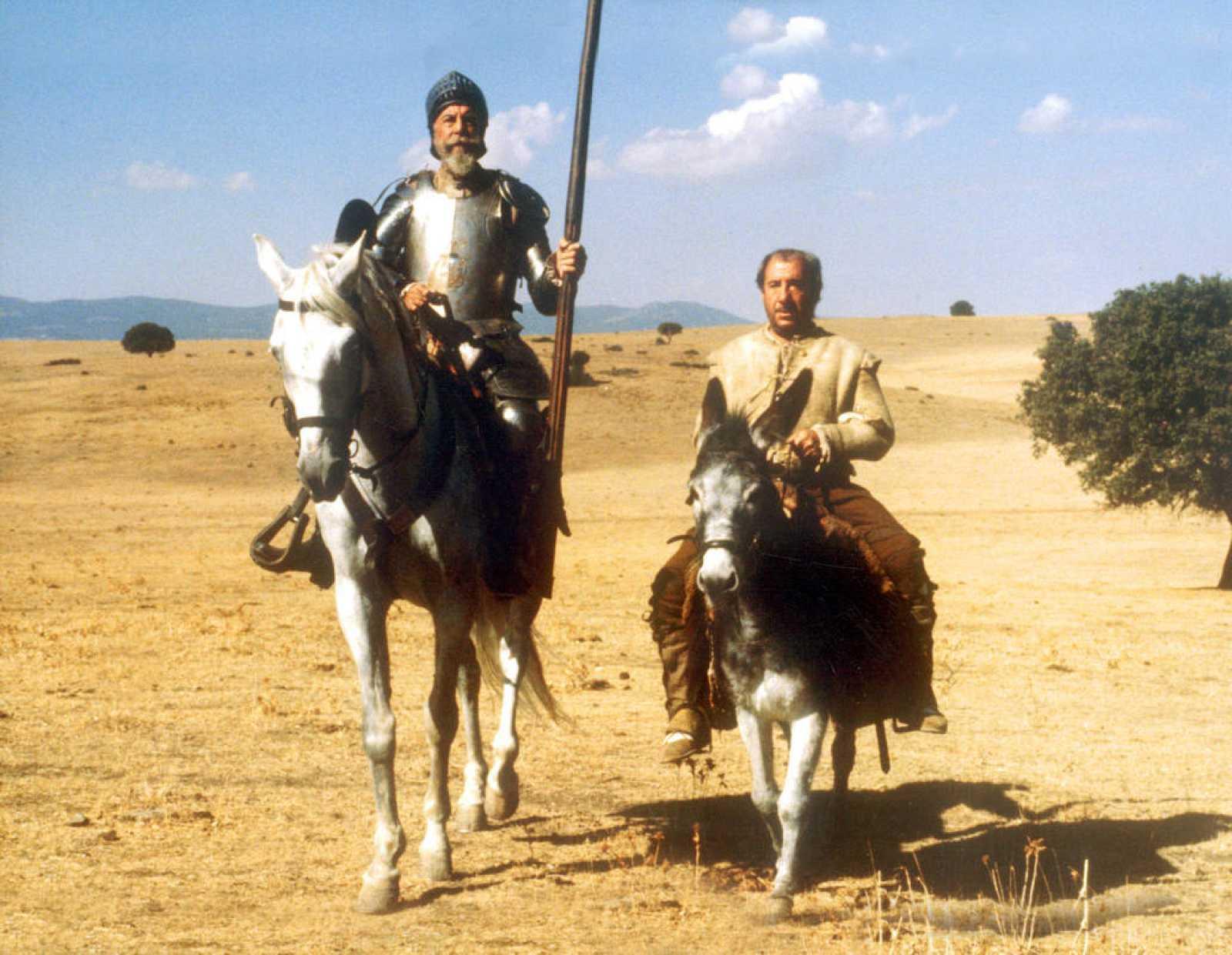La serie 'El Quijote', con Fernando Rey y Alfredo Landa