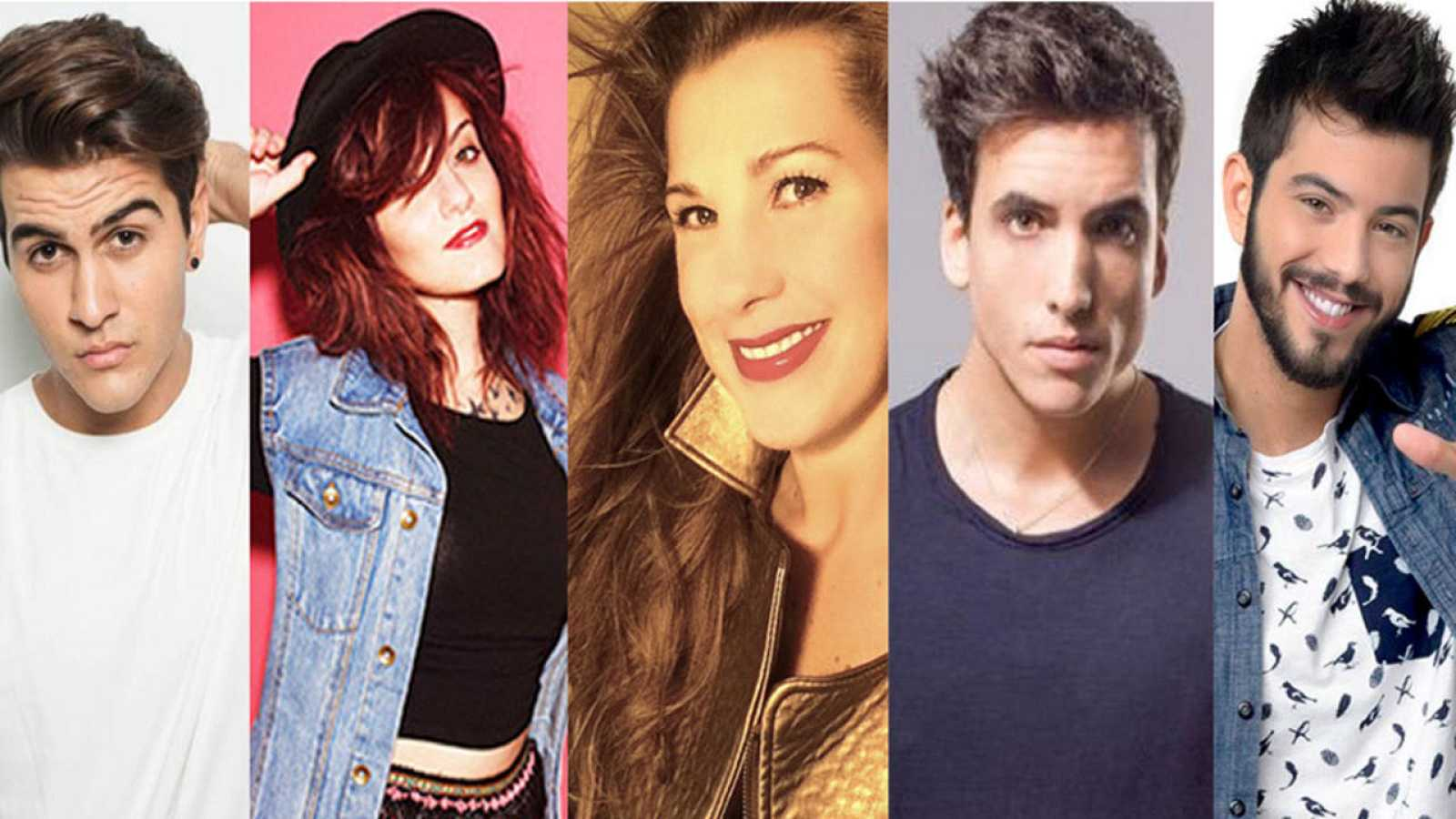 De izq. a der.: Maverick, Electric Nana, Coral, Xuso Jones y Salva Beltrán