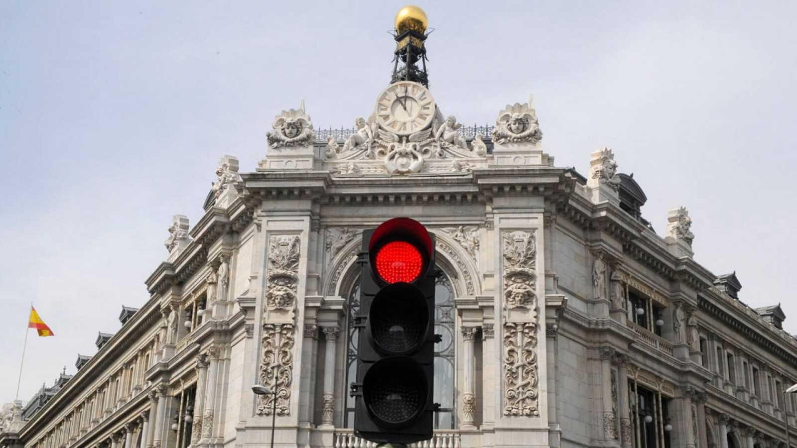 La sede del Banco de España en Madrid