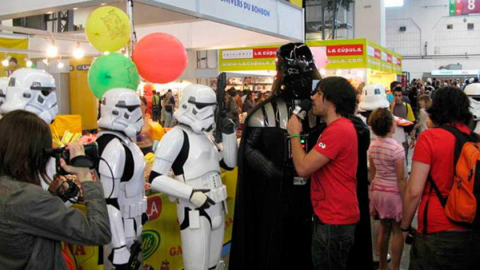 Darth Vader suele ser un visitante habitual del Salón del Cómic de Barcelona