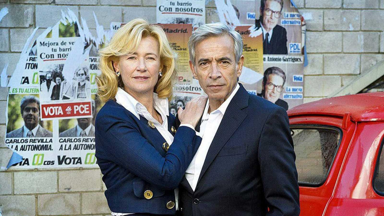 Los actores de 'Cuéntame' Ana Duato e Imanol Arias