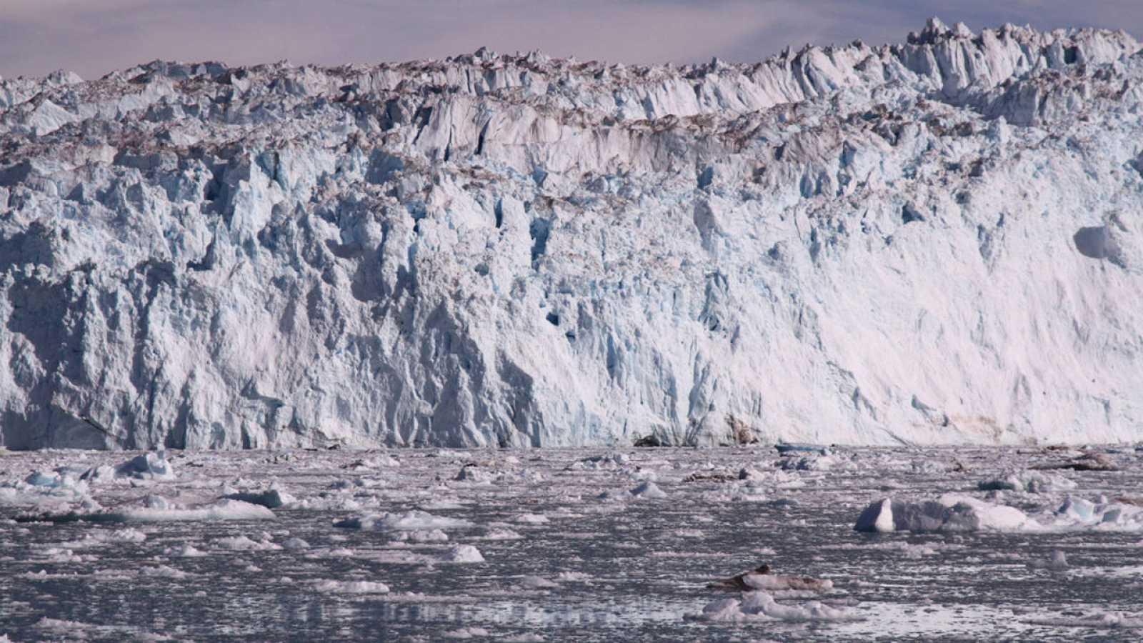 Un glaciar en Groenlandia