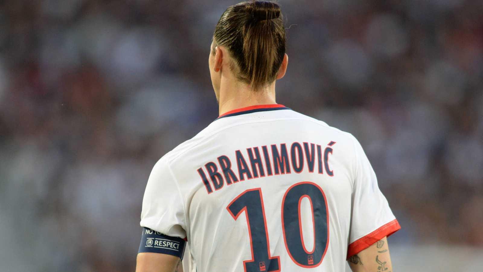 Imagen de archivo de Zlatan Ibrahimovic con el PSG