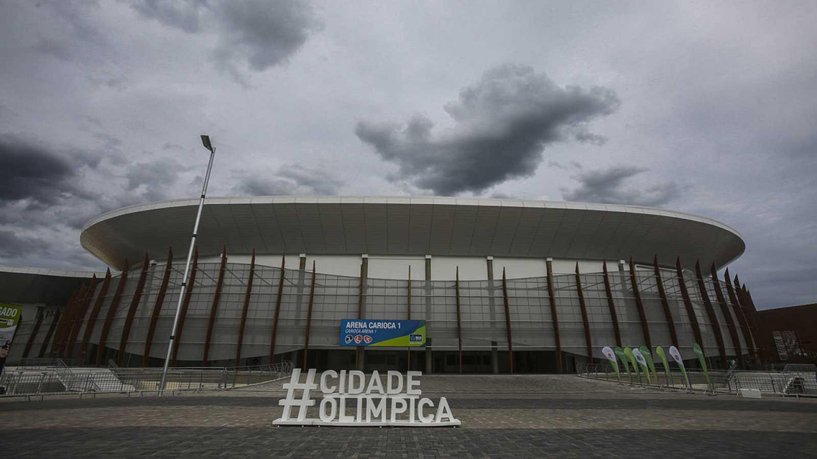 El Arena Carioca 1, instalación que acogerá las competiciones de baloncesto, baloncesto en silla de ruedas y rugby en silla de ruedas en los Juegos Olímpicos Río 2016