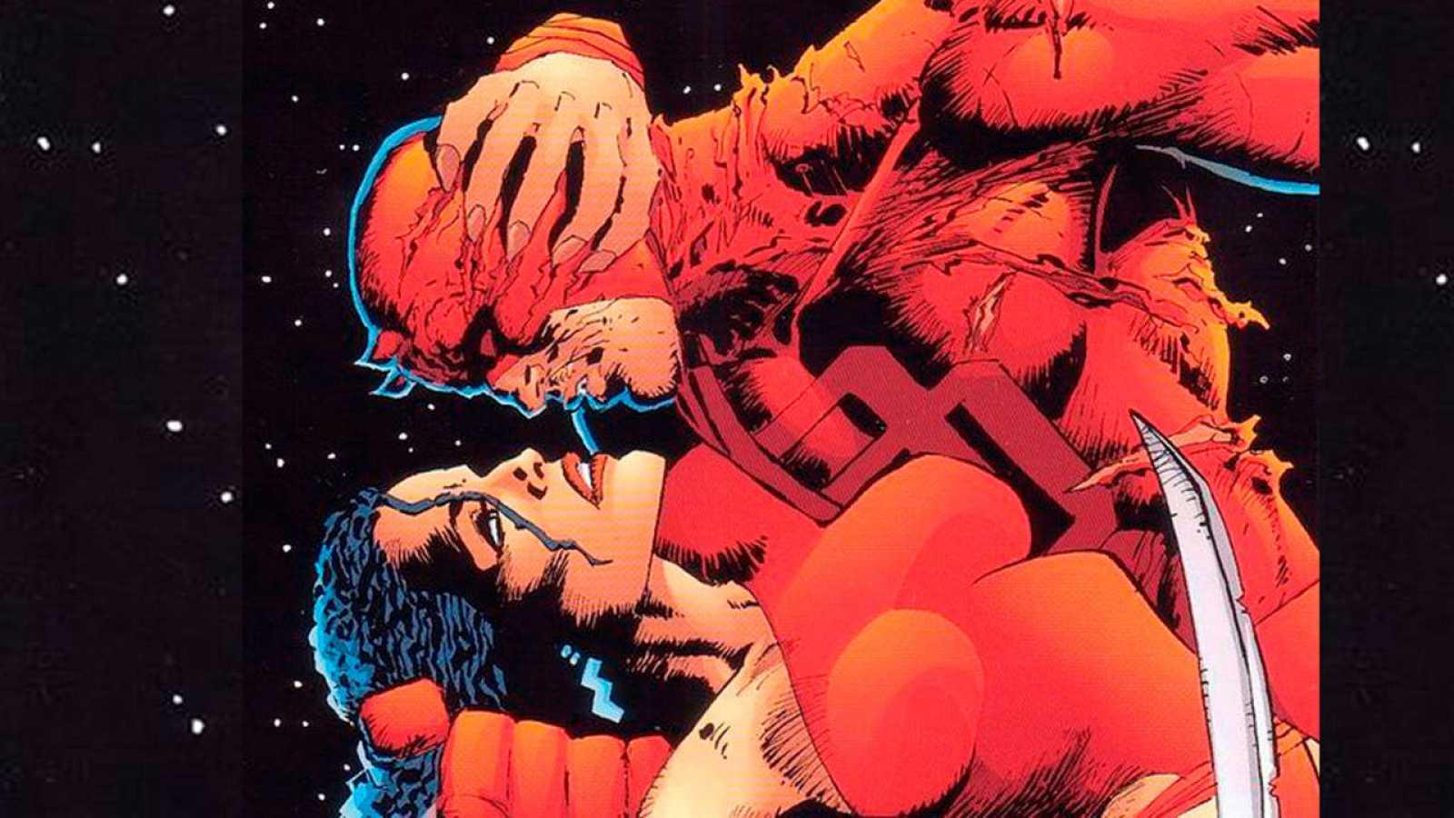 Daredevil y Elektra vistos por Frank Miller