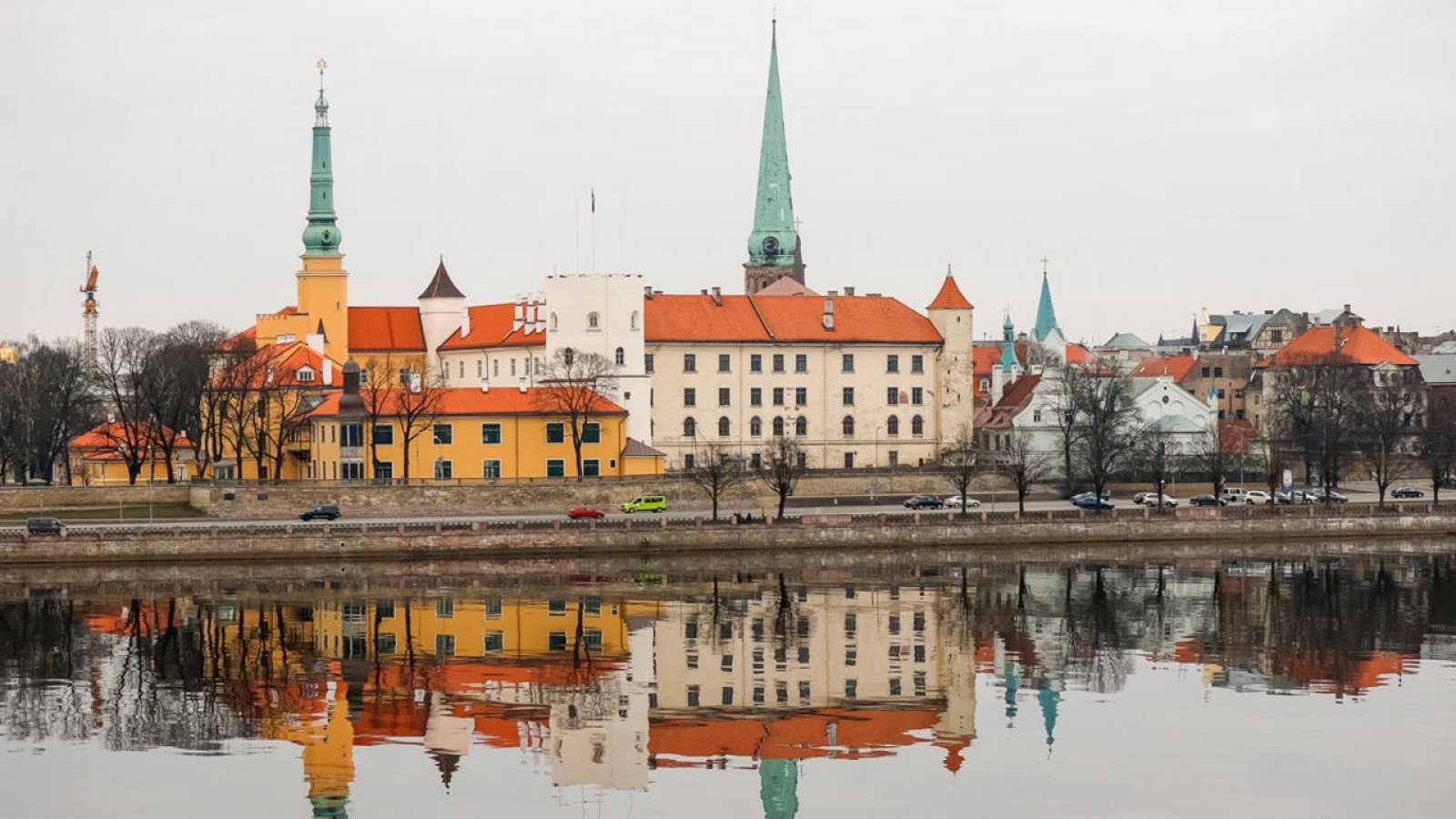 El castillo de Riga, residencia oficial del presidente de Letonia