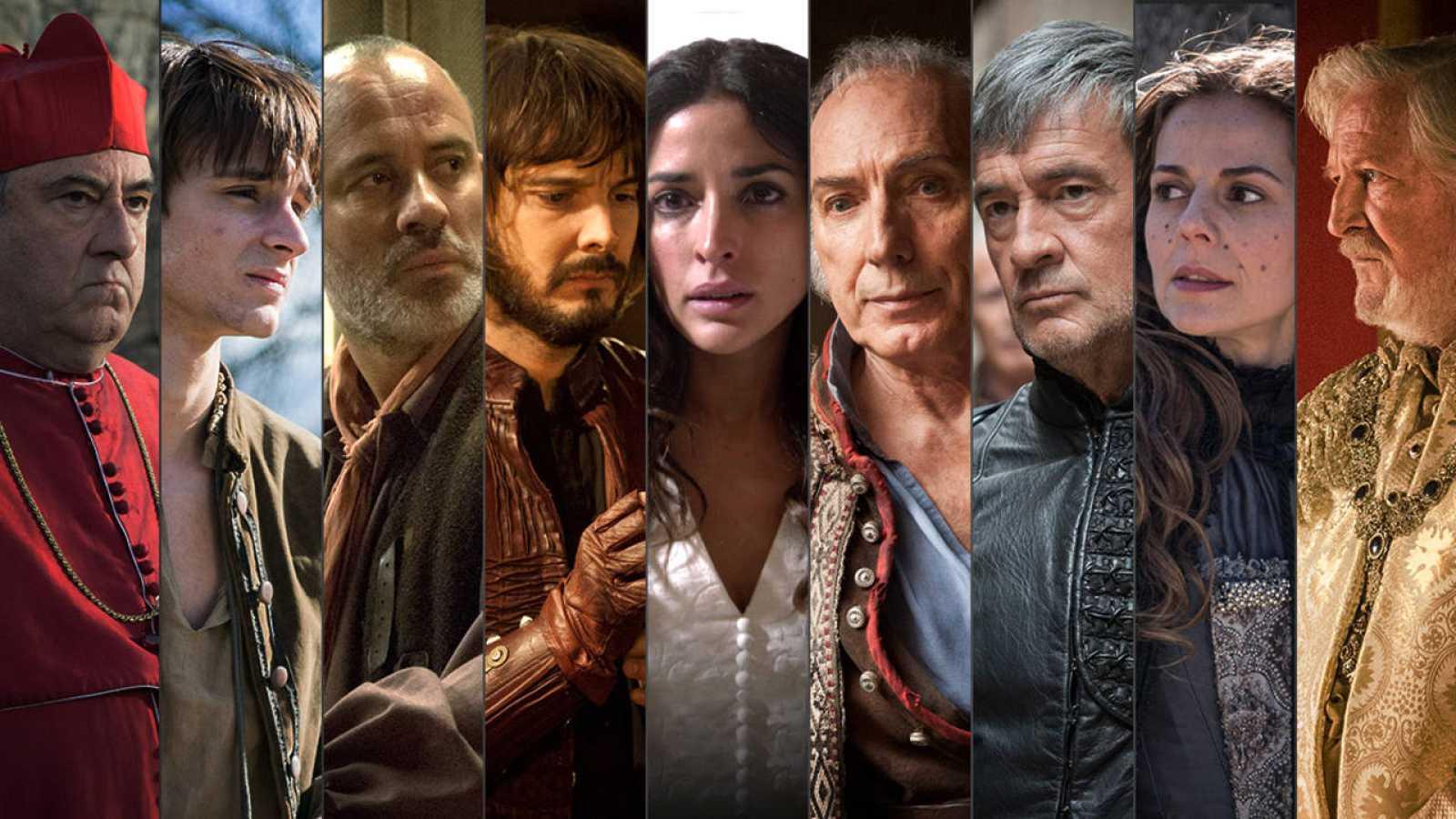 Vuelve Águila Roja: así dejamos a sus personajes en la octava temporada