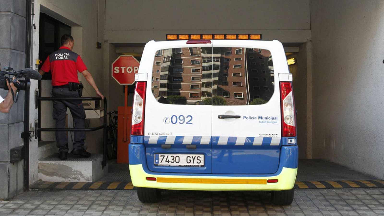 Trasladan a uno de los cinco detenidos en Pamplona por una agresión sexual