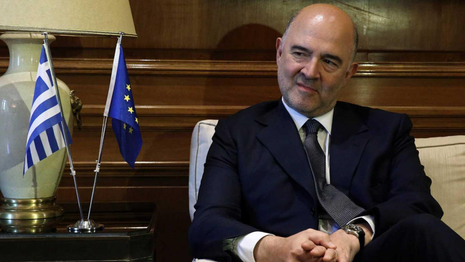 El comisario europeo de Asuntos Económicos y Financieros, Fiscalidad y Aduanas, Pierre Moscovici