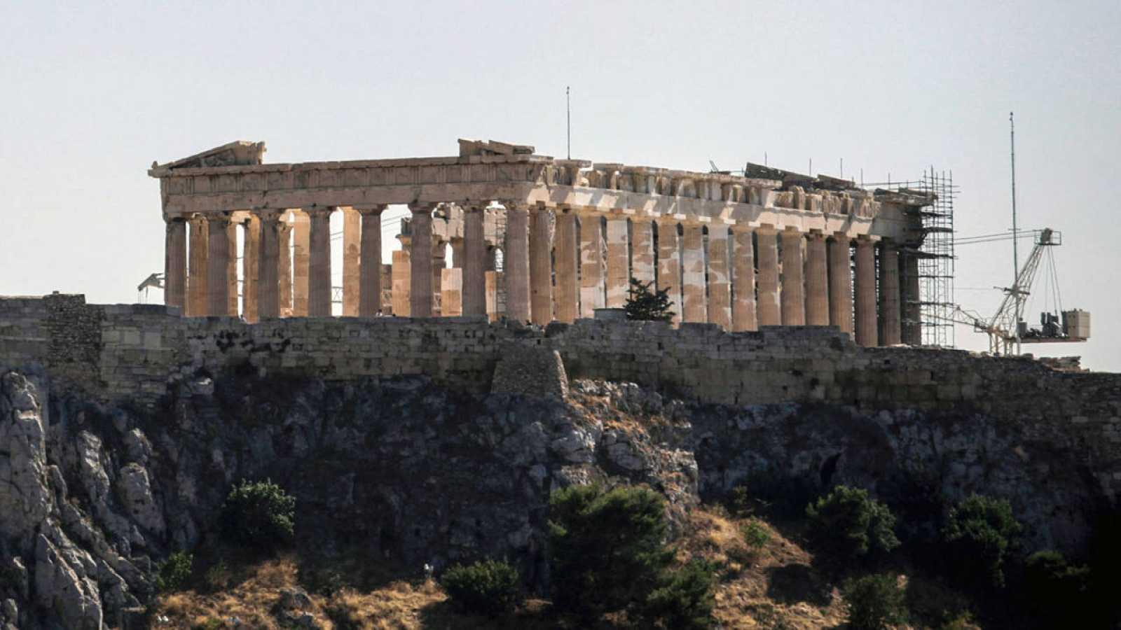 El Partenón en obras