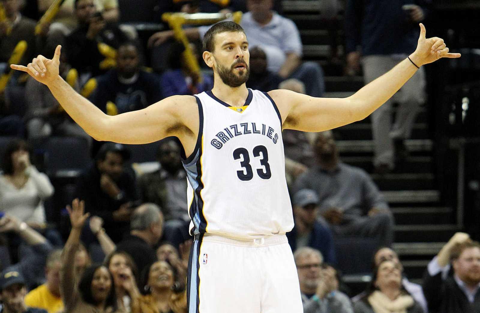 El pivot español de Memphis Grizzlies Marc Gasol.