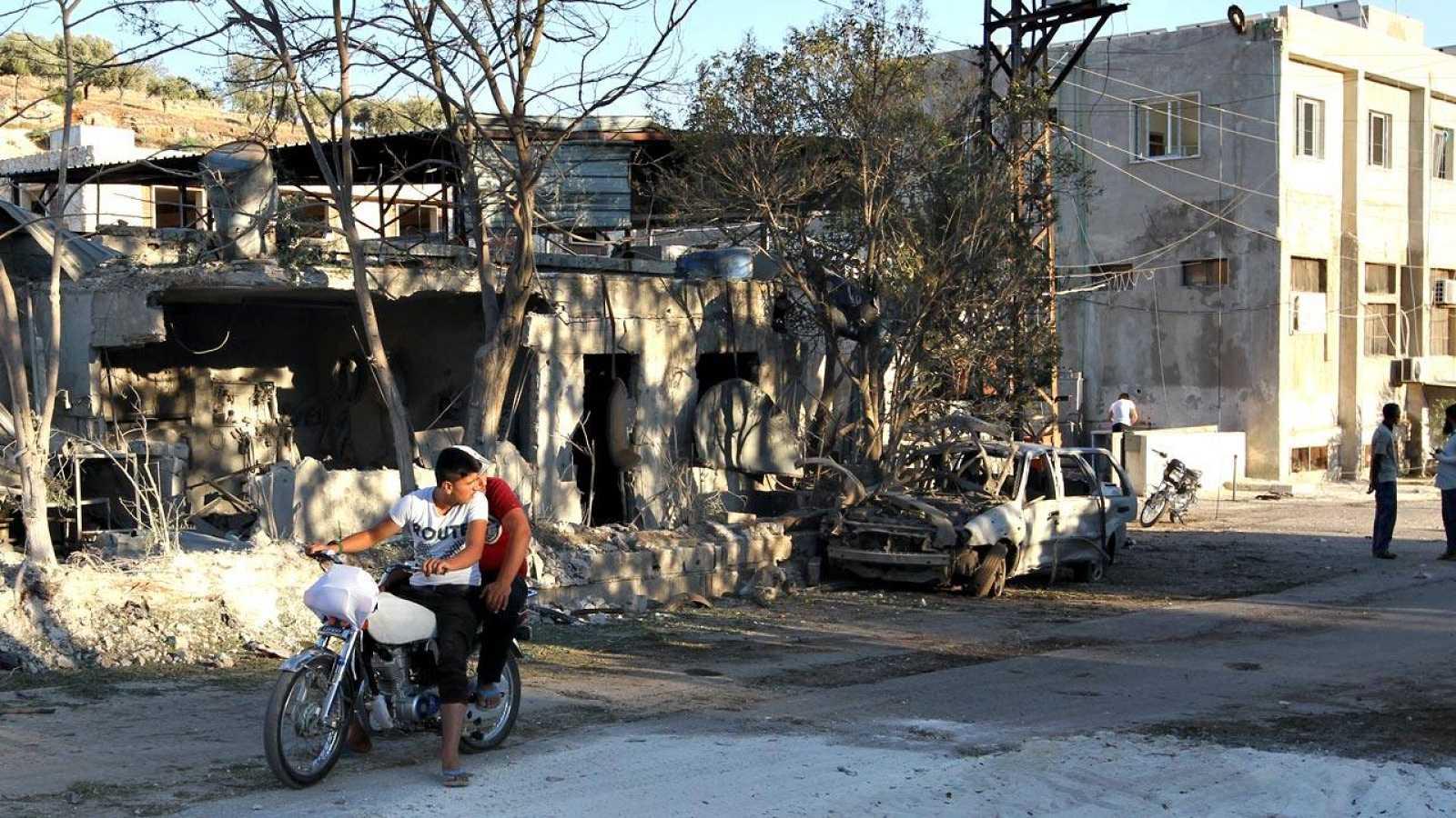 El hospital materno-infantil bombardeado en Idlib, en el norte de Siria