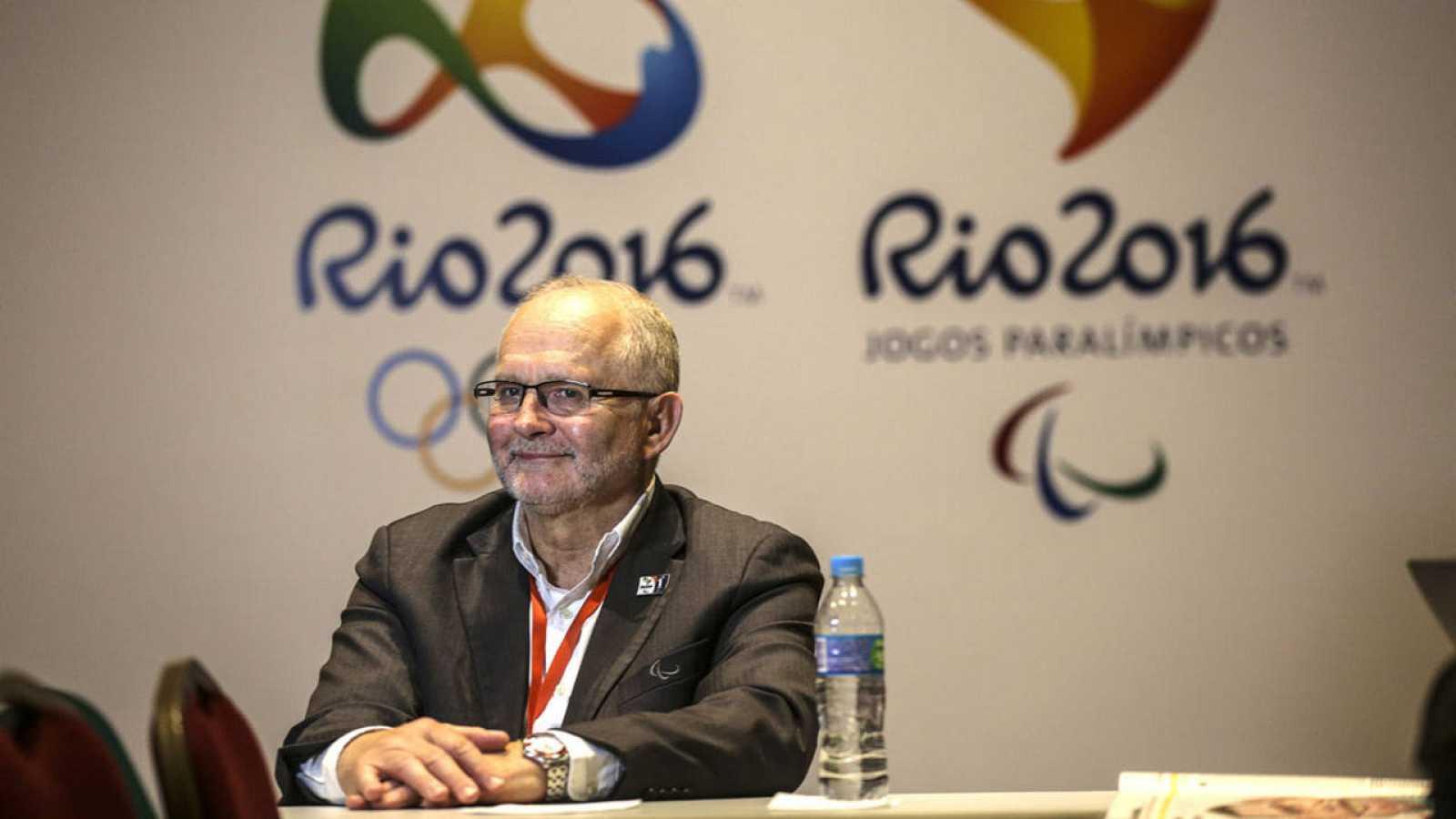 El presidente del Comité Paralímpico Internacional, Philip Craven