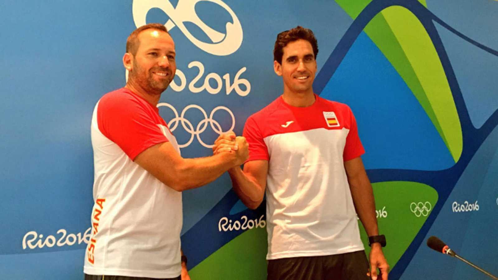 Sergio García y Rafa Cabrera-Bello debutan en Río 2016
