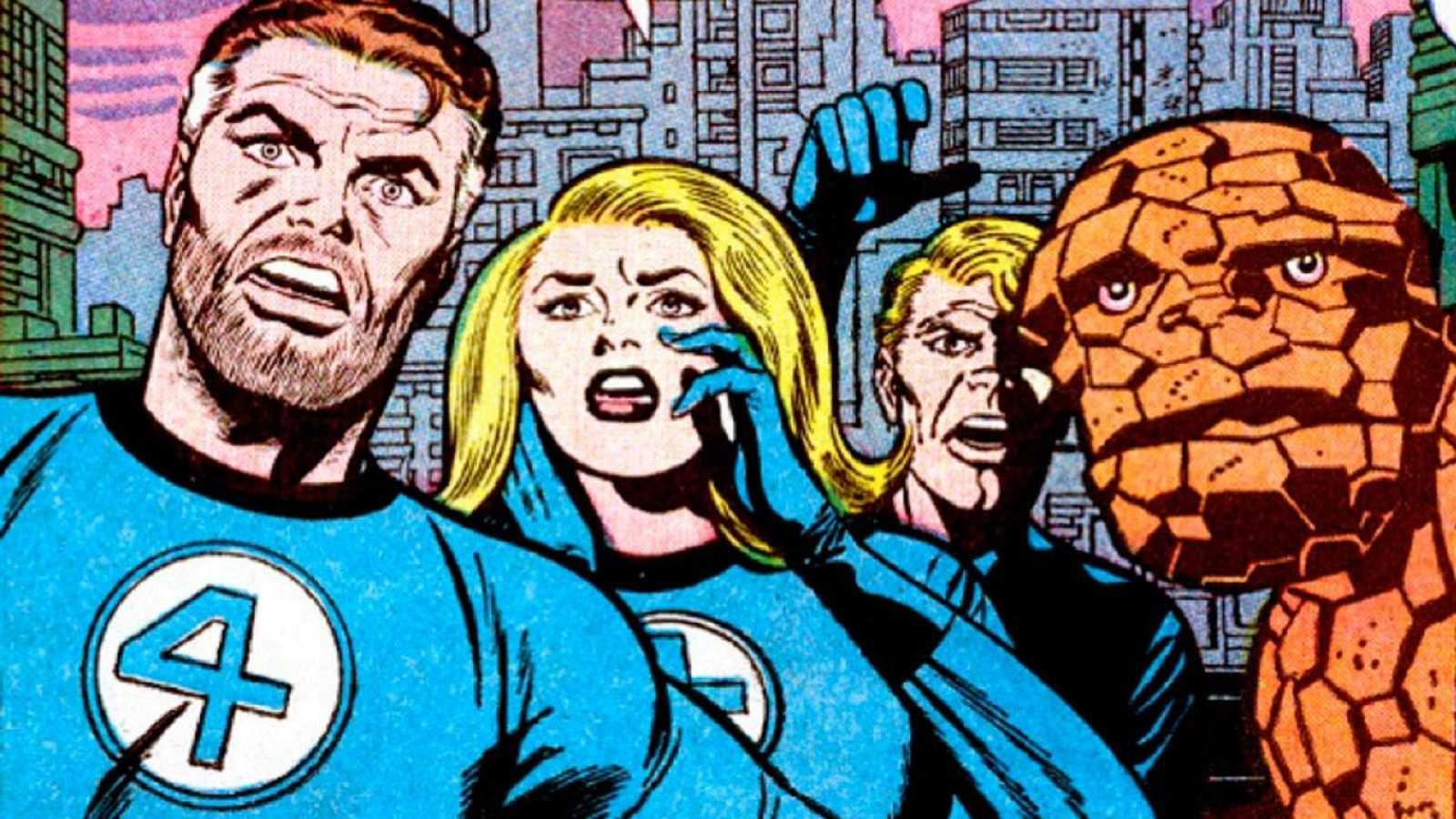 Resultado de imagen para marvel comics 1961 cuatro fantasticos