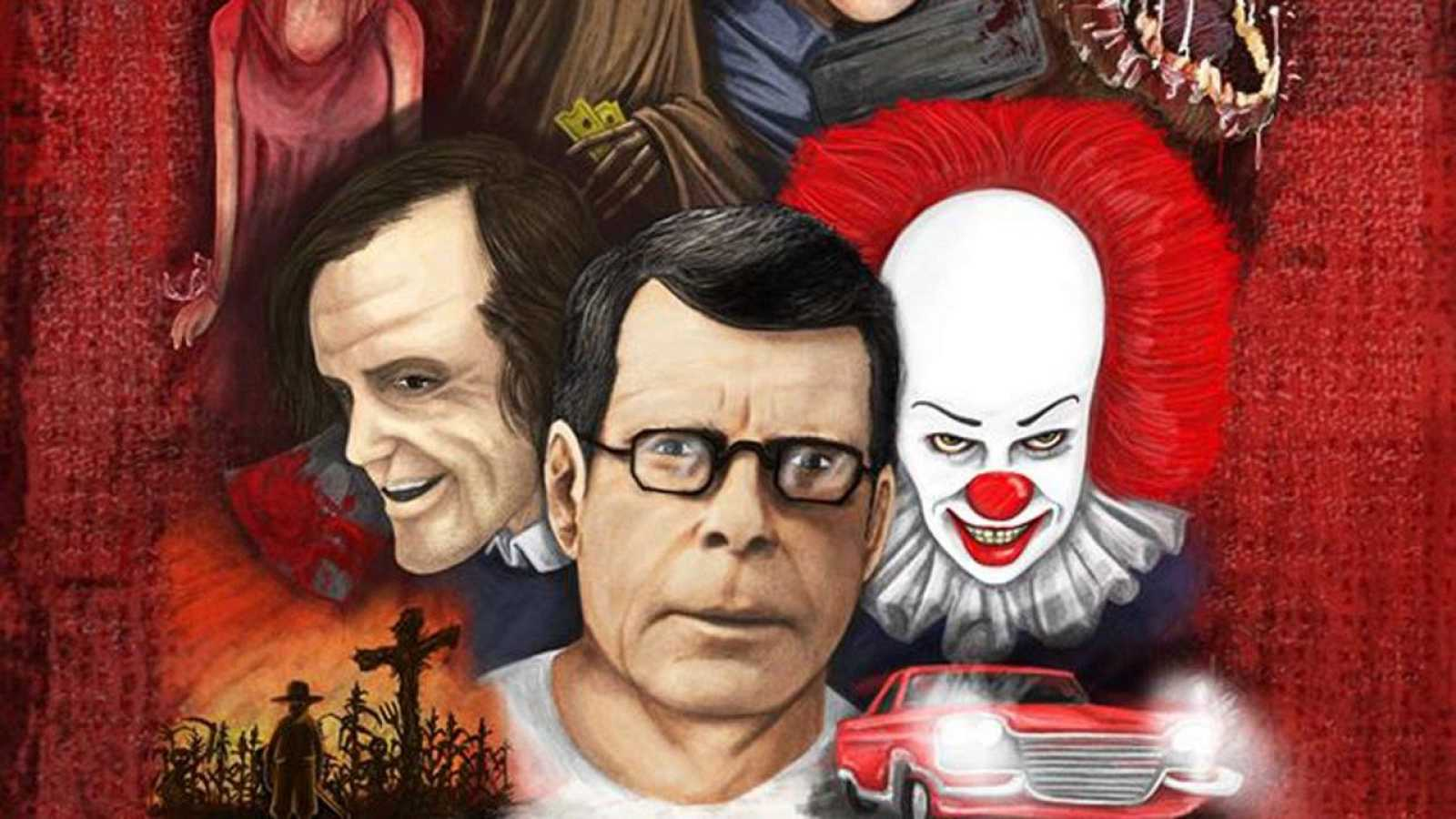 Fragmento de la portada de 'Here¿s Johnny! Las pesadillas de Stephen King'