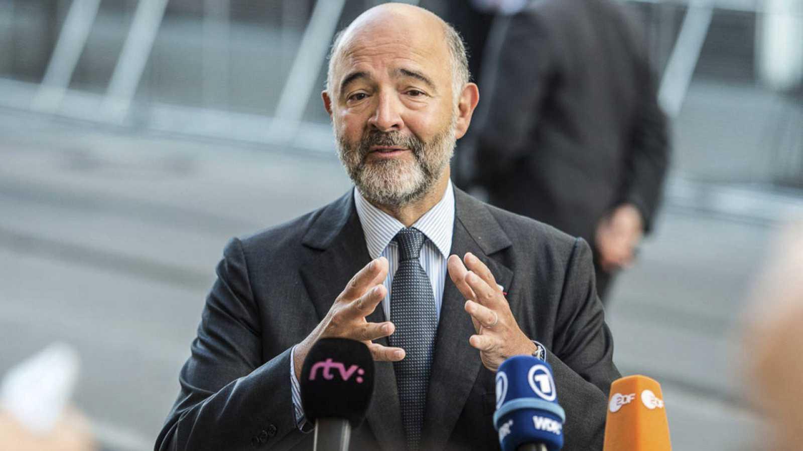 El comisario europeo de Asuntos Económicos y Financieros, Pierre Moscovici