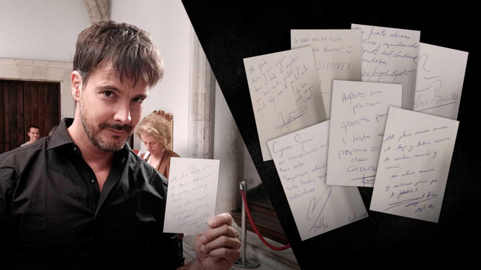 Águila Roja - ¡Gana uno de los siete autógrafos firmados por los actores de la serie!