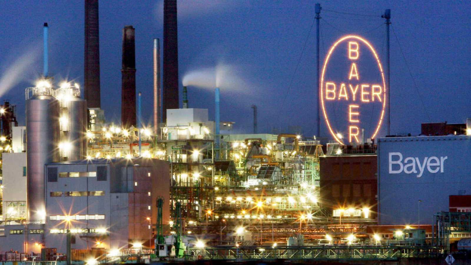 La fábrica de Bayer en Leverkusen