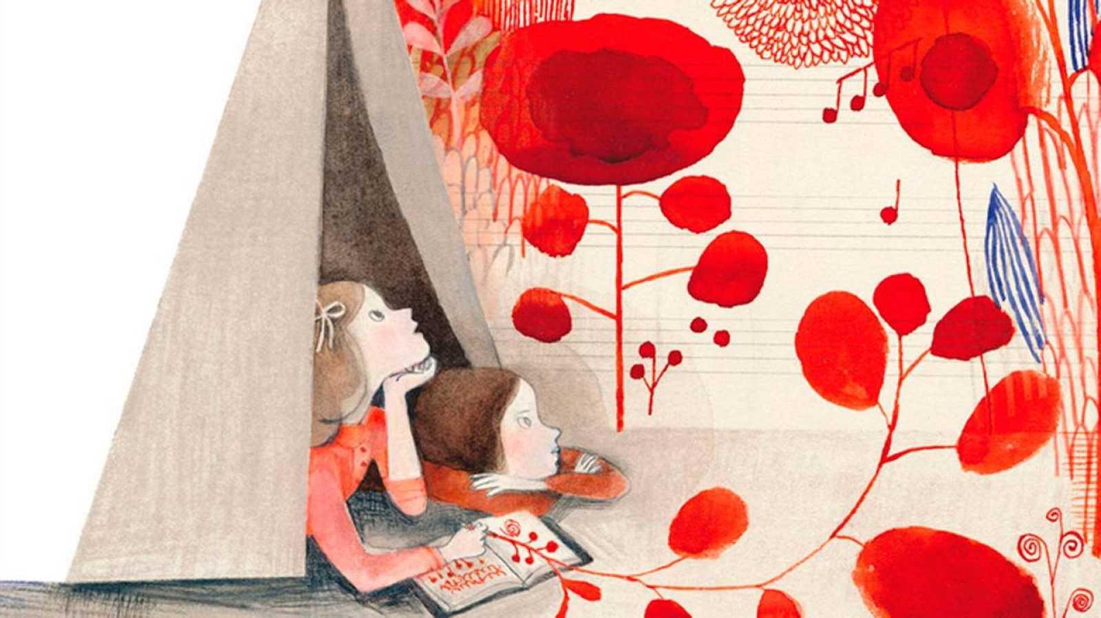 Fragmento de la portada de 'Nana de tela. La vida tejida de Louise Bourgeois'