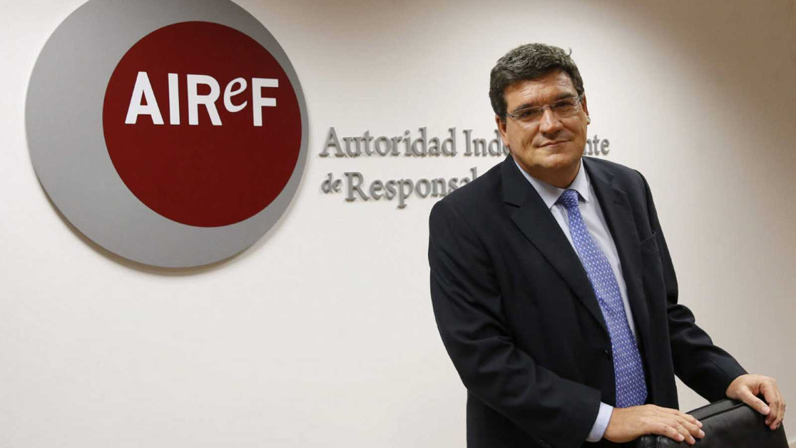 El presidente de la AIReF, José Luis Escrivá