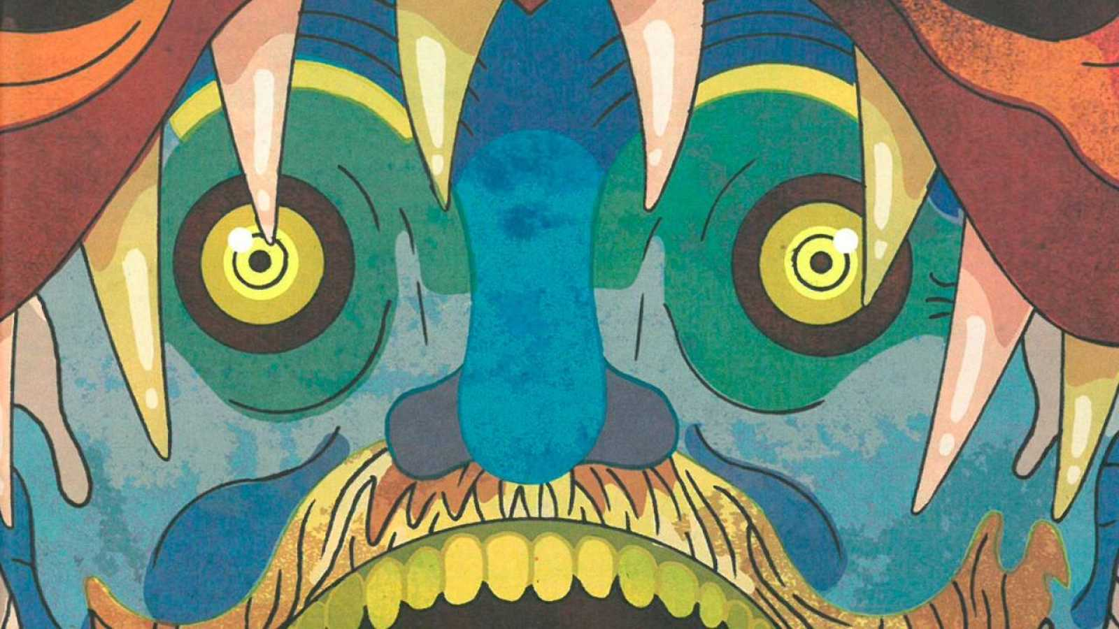 Fragmento de la portada de 'Los dientes de la eternidad'