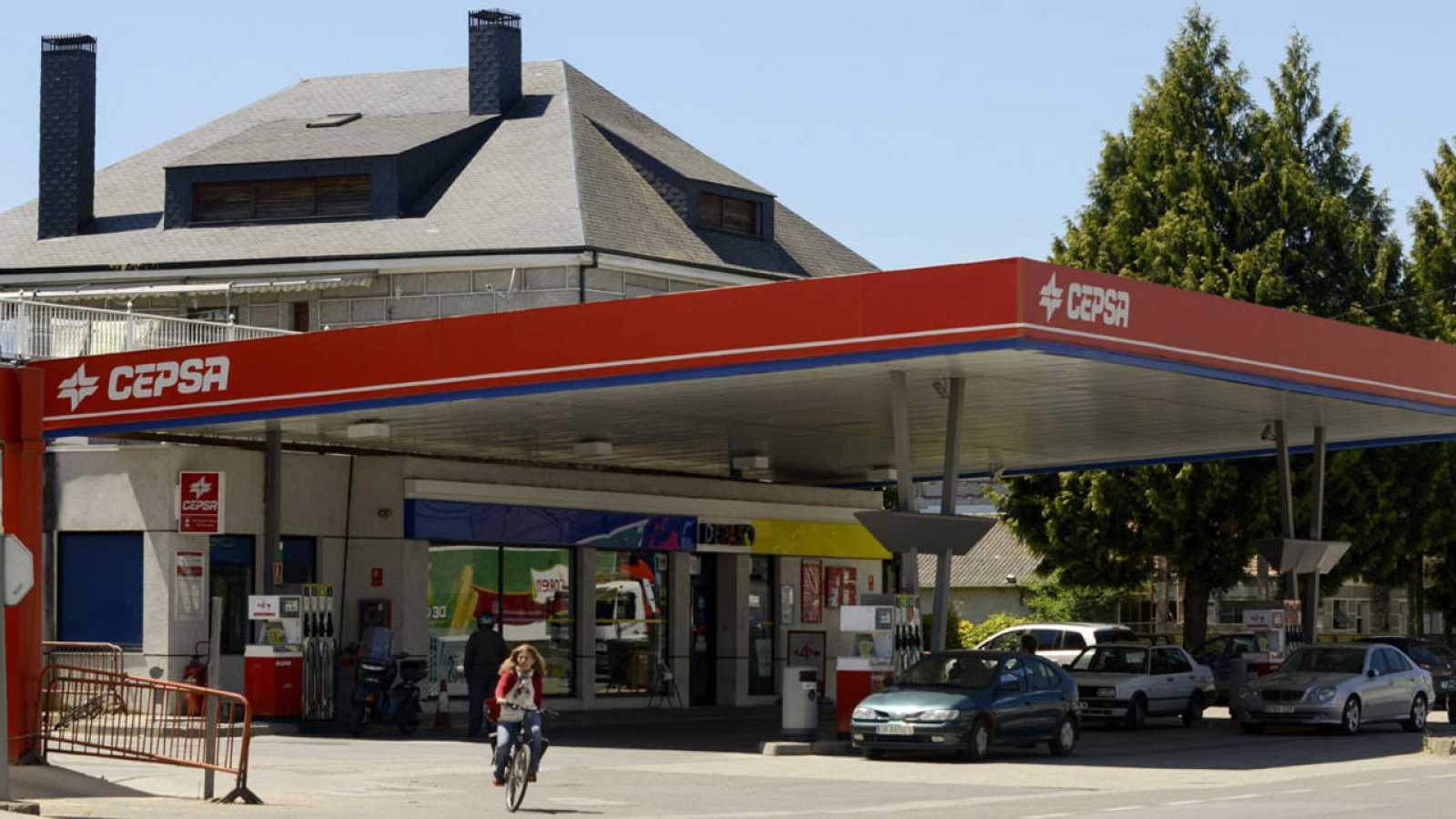 Una gasolinera de Cepsa en una imagen de archivo