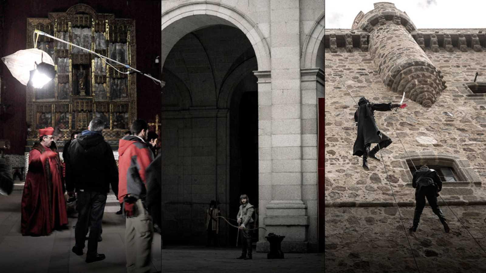 La Villa de Águila Roja: un mosaico de localizaciones españolas