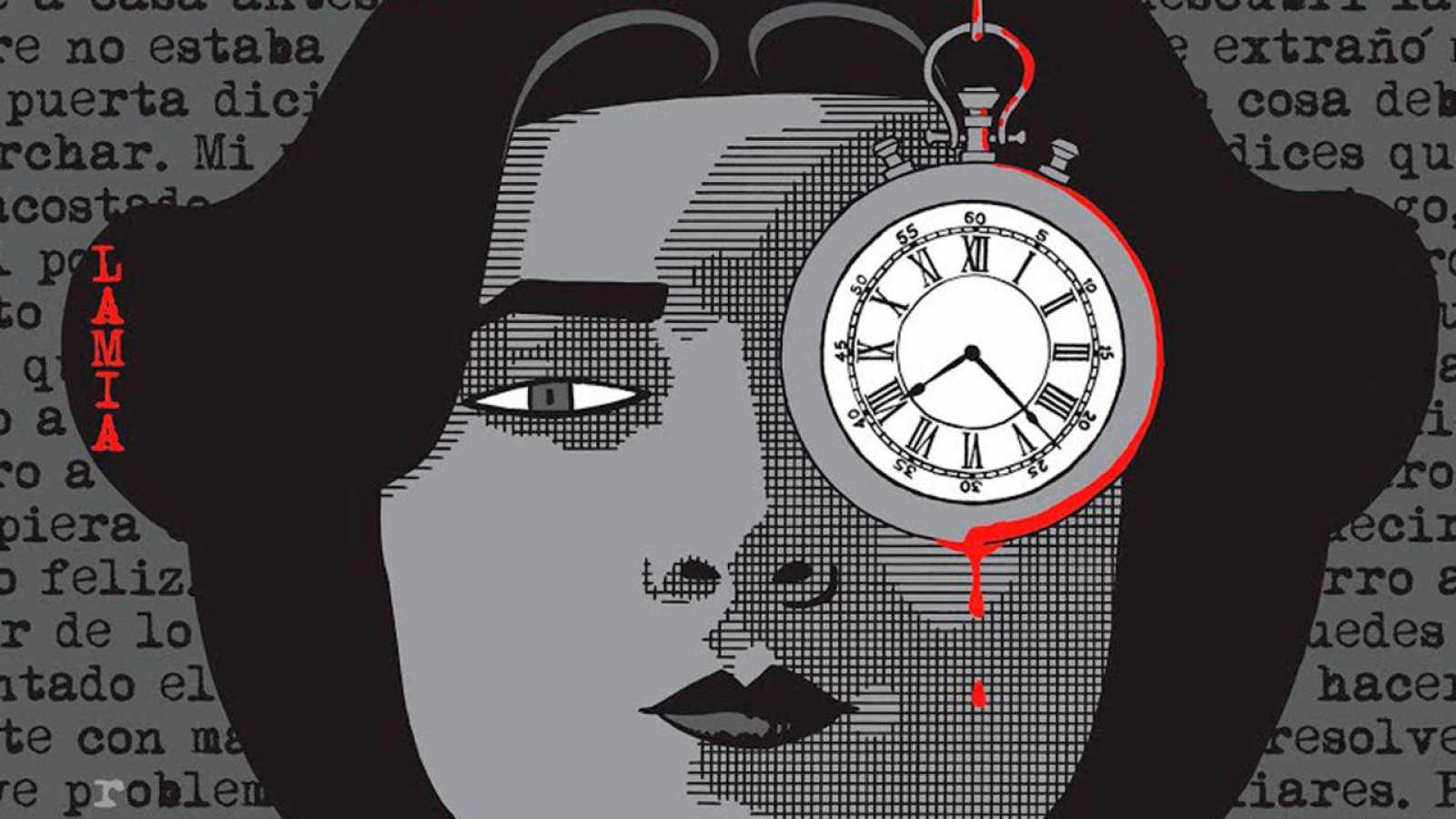 Fragmento de la portada de 'Lamia'