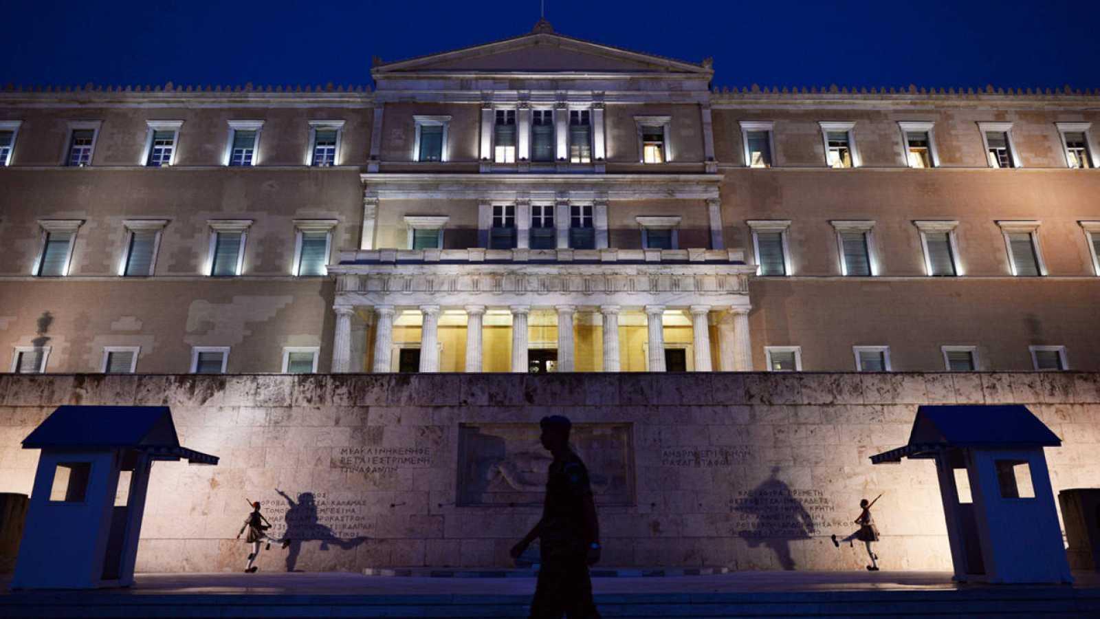 El Parlamento de Grecia, Atenas
