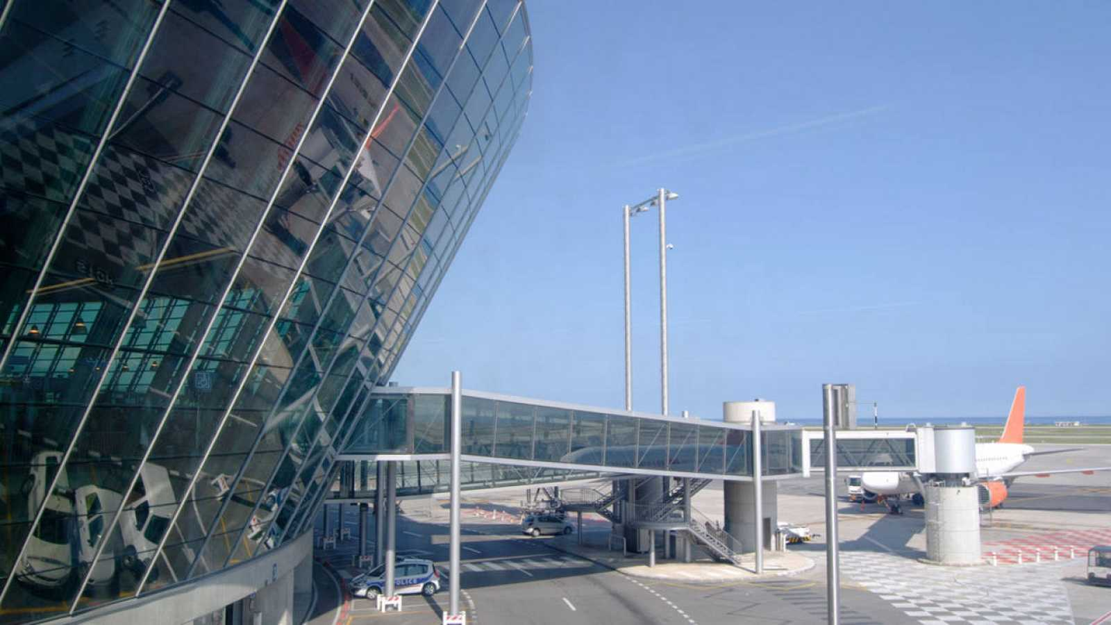 Imagen de archivo del aeropuerto de Niza