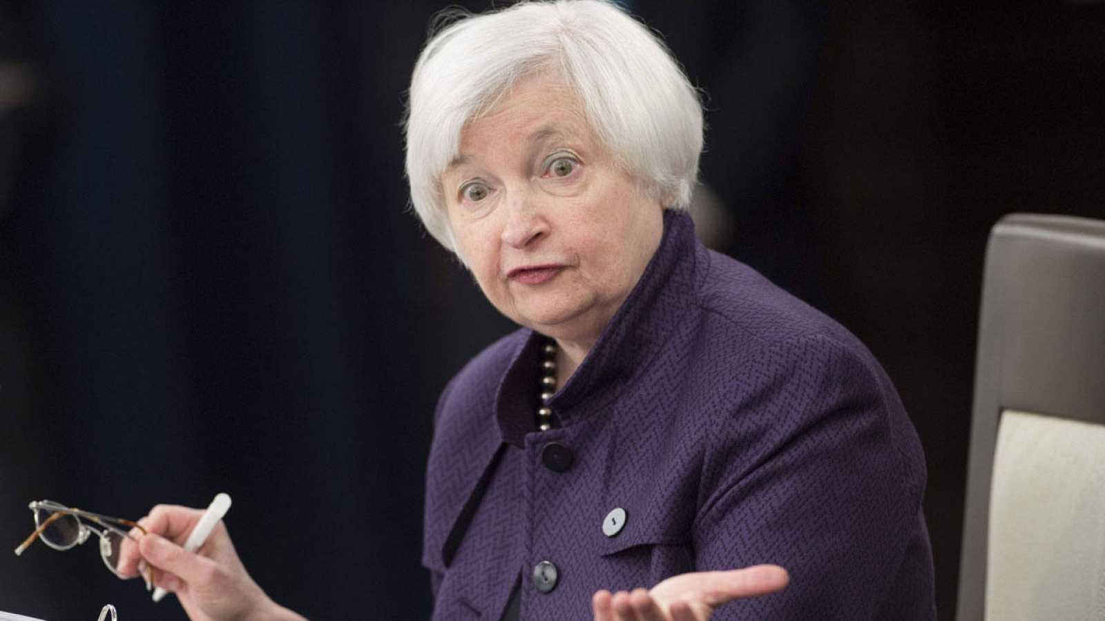 La presidenta de la Reserva Federal, Yanet Yellen, en una foto de archivo
