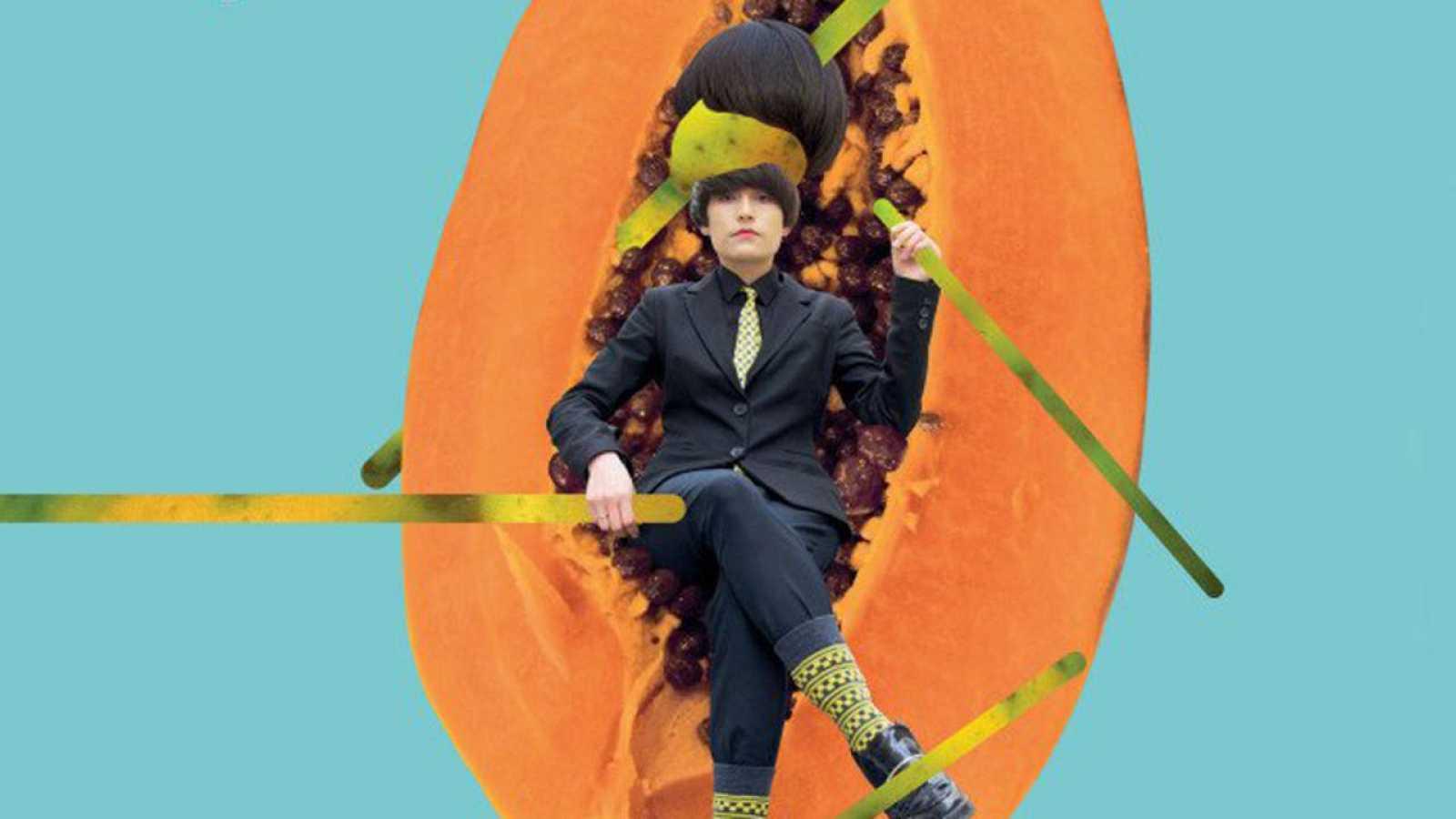 Imagen de la portada del primer disco de Papaya, 'No me quiero enamorar'.