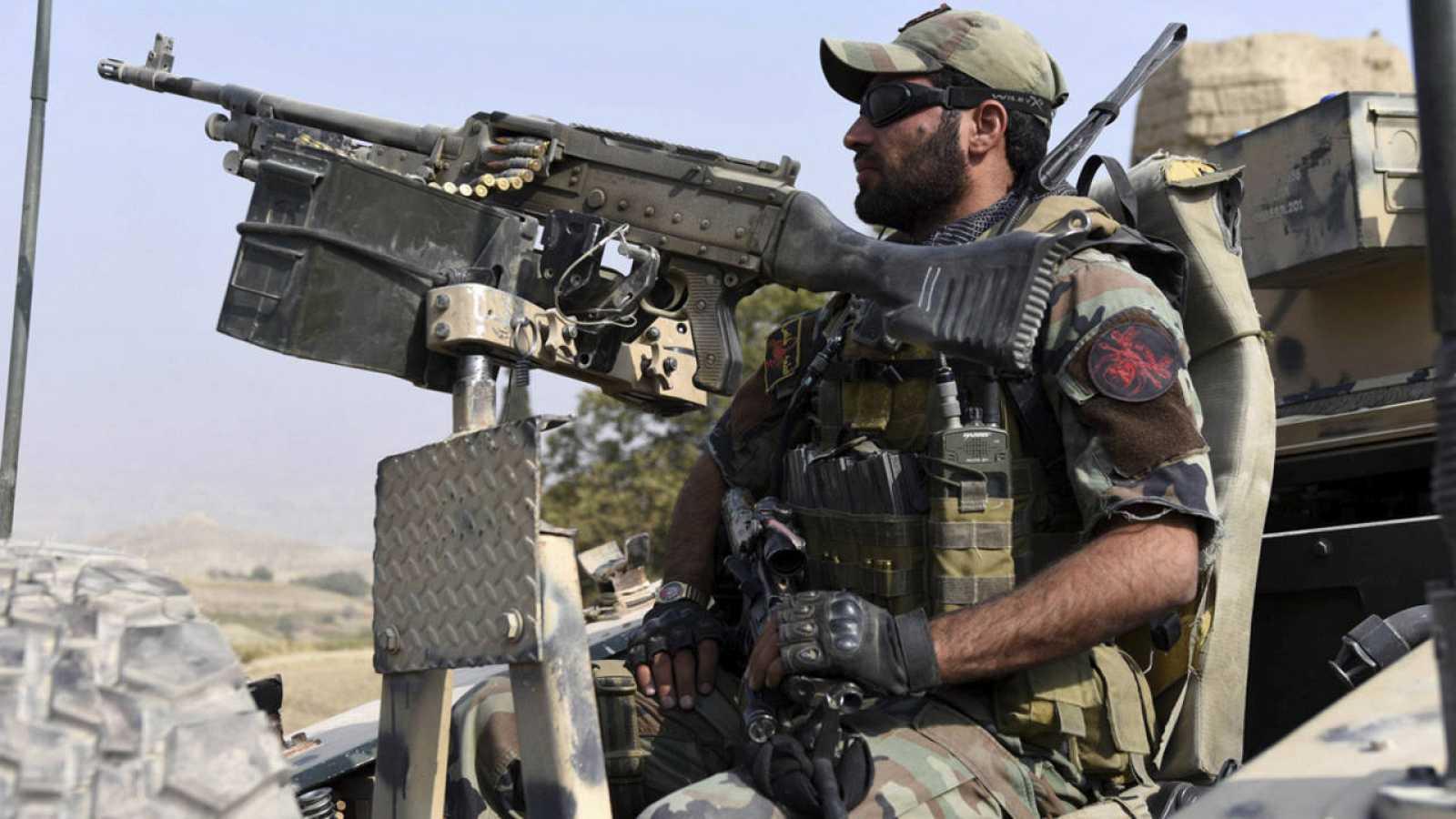 Un efectivo de las Fuerzas de Seguridad afganas.