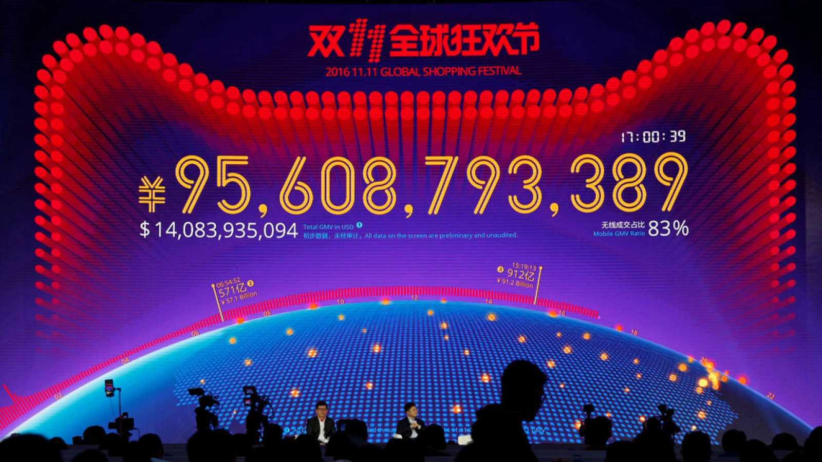 39a2594cabe00 Alibaba bate su récord de ventas  online  el  Día del Soltero  - RTVE.es