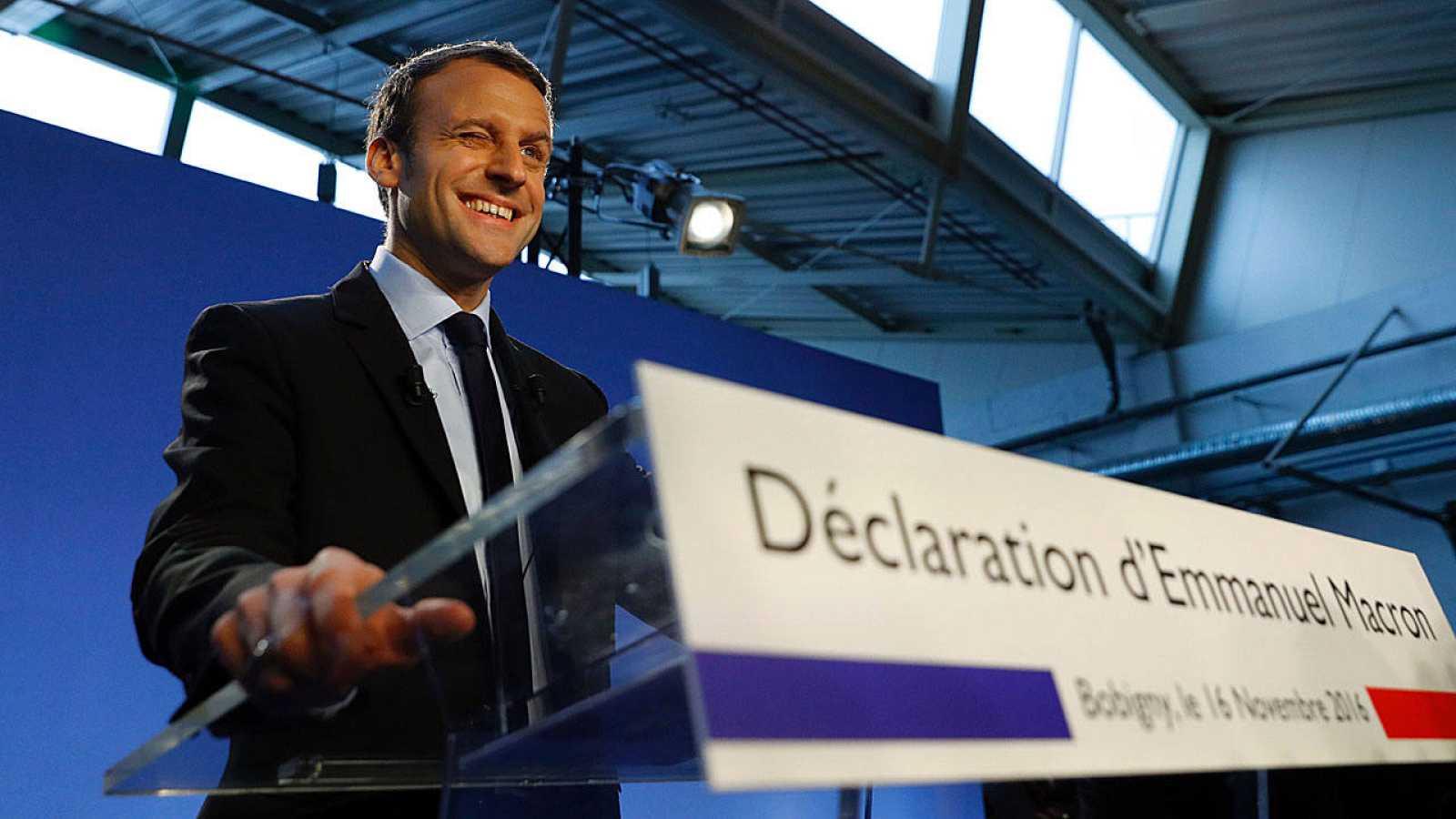 La candidatura de Emmanuel Macron era un secreto a voces desde que dimitió como ministro este verano.