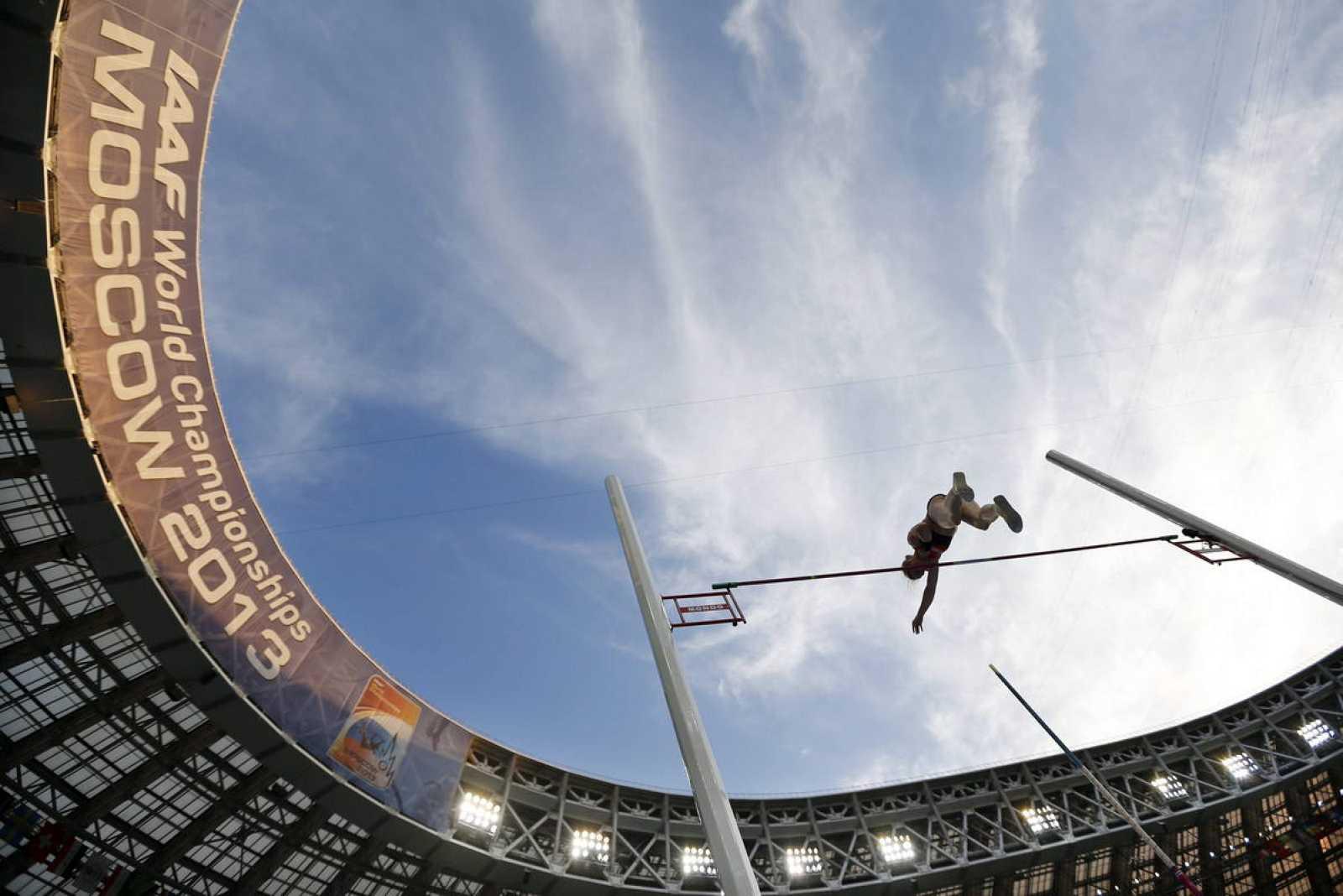 Imagen de archivo de los 14º Mundiales de atletismo que se disputaron en Moscú (Rusia) en 2013.