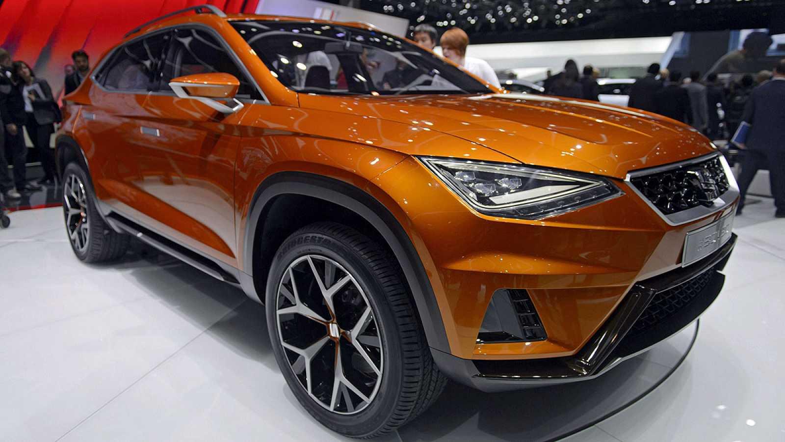 Modelo de SUV de Seat presentado en el Salón de Ginebra