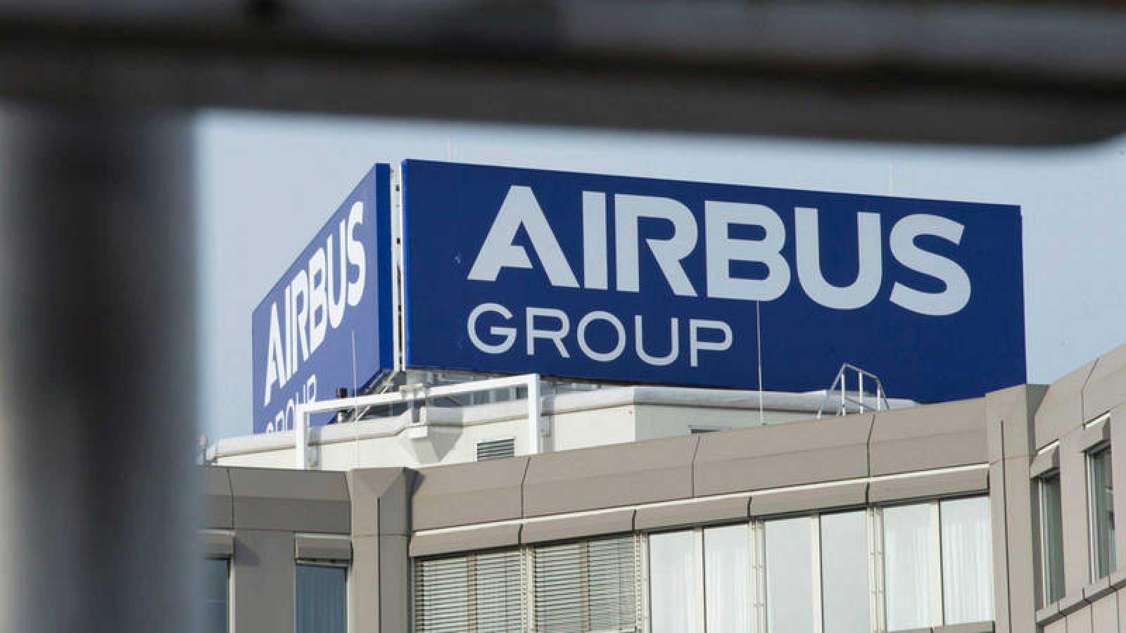 Fotografía de archivo de un edificio de Airbus en Baviera, Alemania
