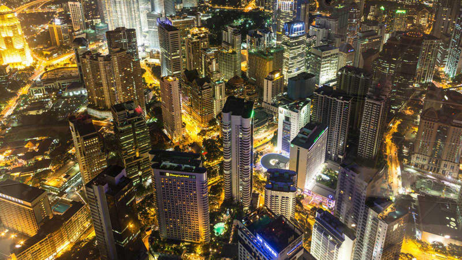 Panorámica de Kuala Lumpur, capital de Malasia