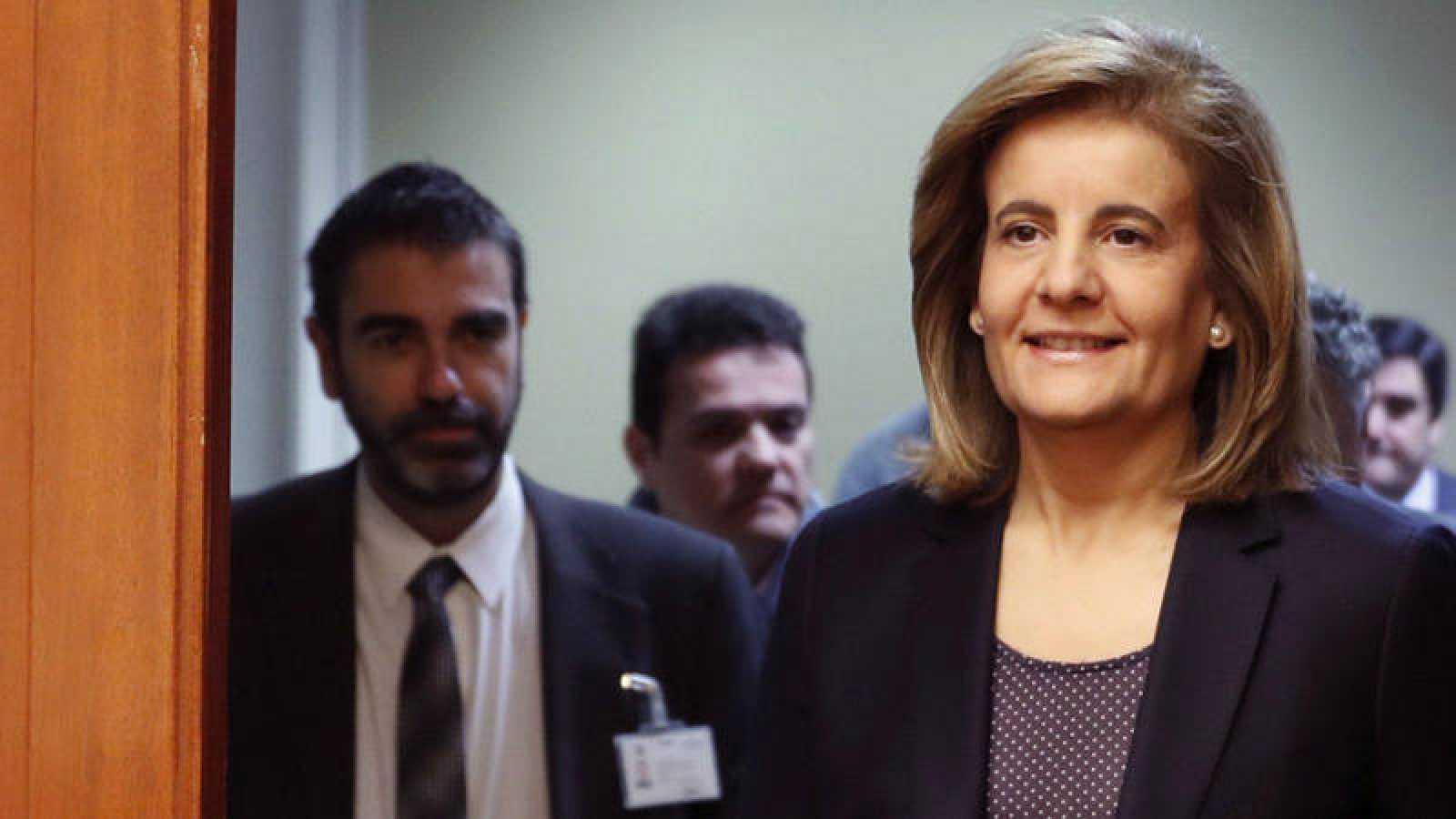 Fátima Báñez asiste a la Comisión de Empleo en el Congreso