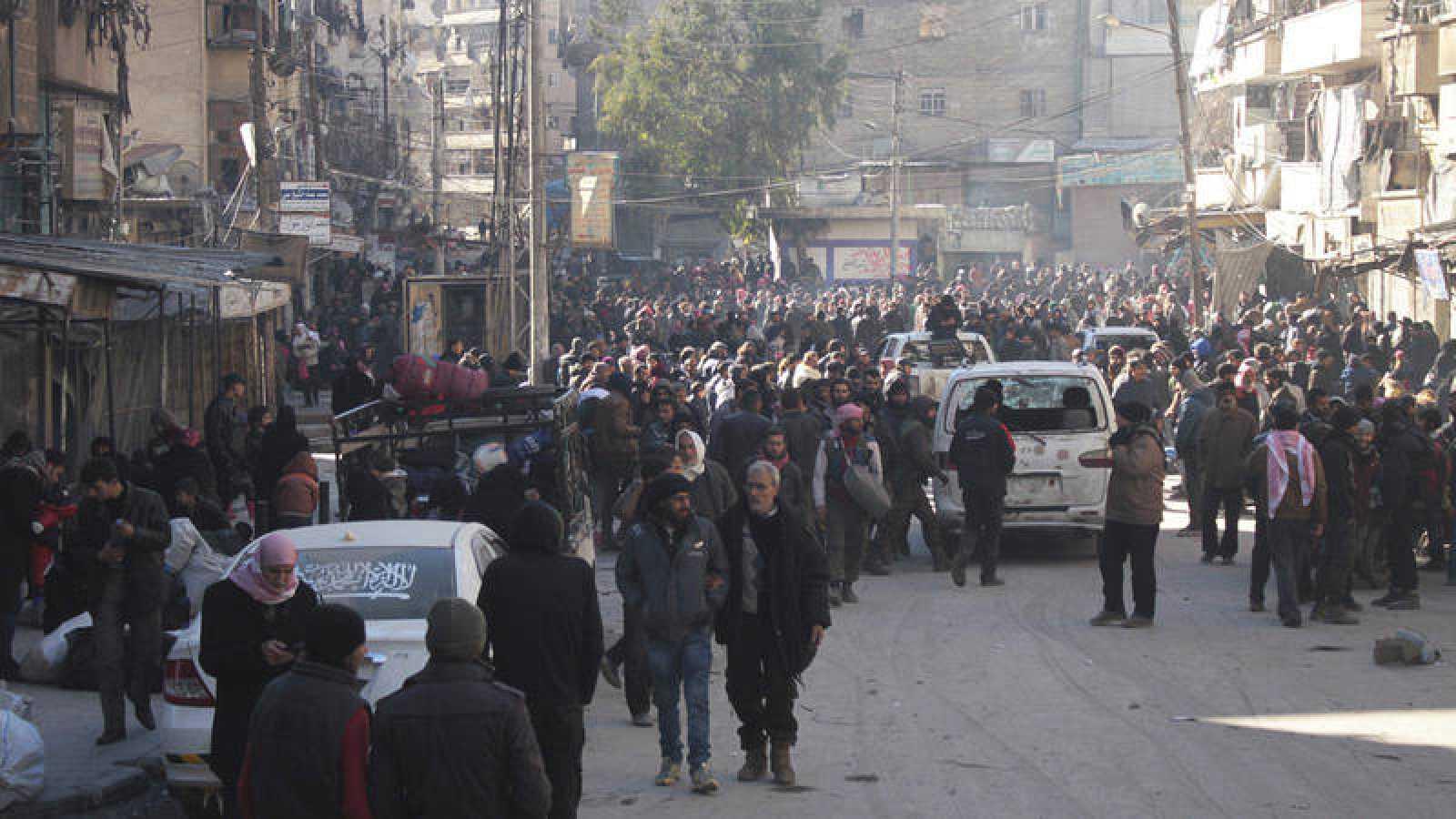 Acuerdo entre las partes para reanudar la evacuación de Alepo - RTVE.es