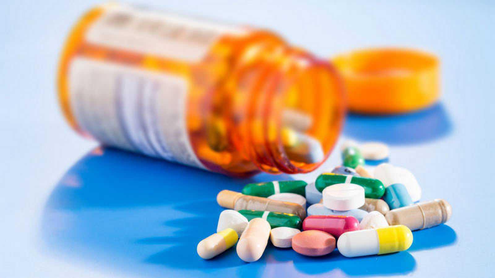 Imagen genérica de distintos comprimidos