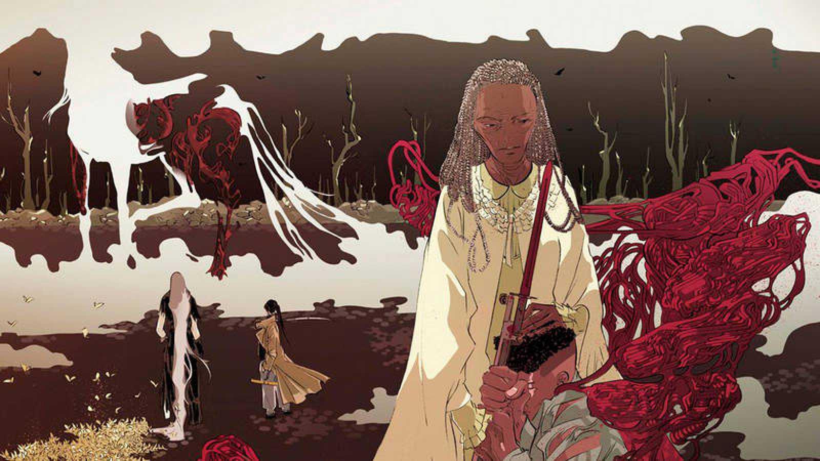 Fragmento de una portada de 'Bella Muerte 2: El oso'