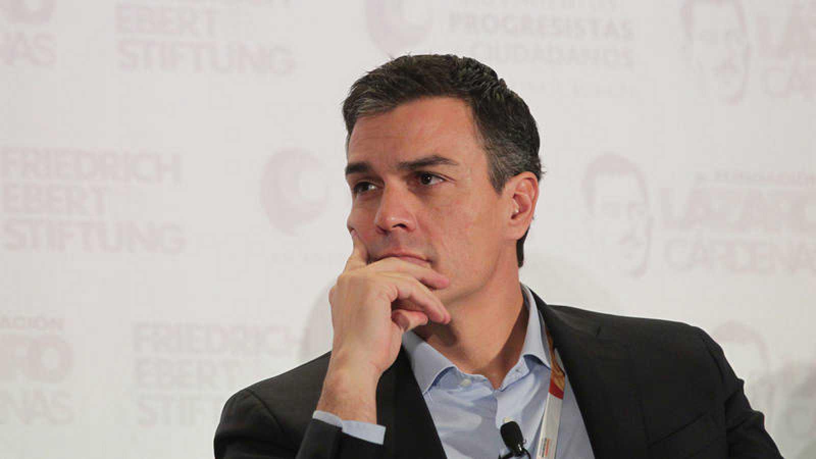 El ex secretario general del PSOE, Pedro Sánchez, el pasado mes de noviembre